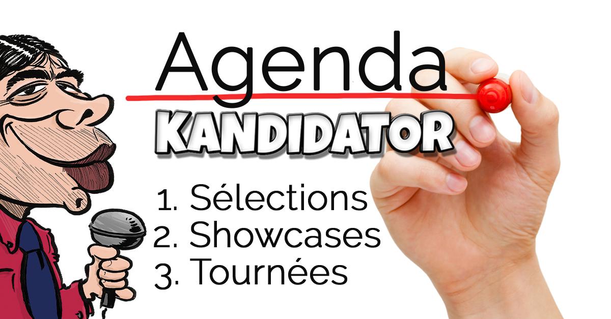 Kandidator, le 25 Septembre - Le Rideau Rouge