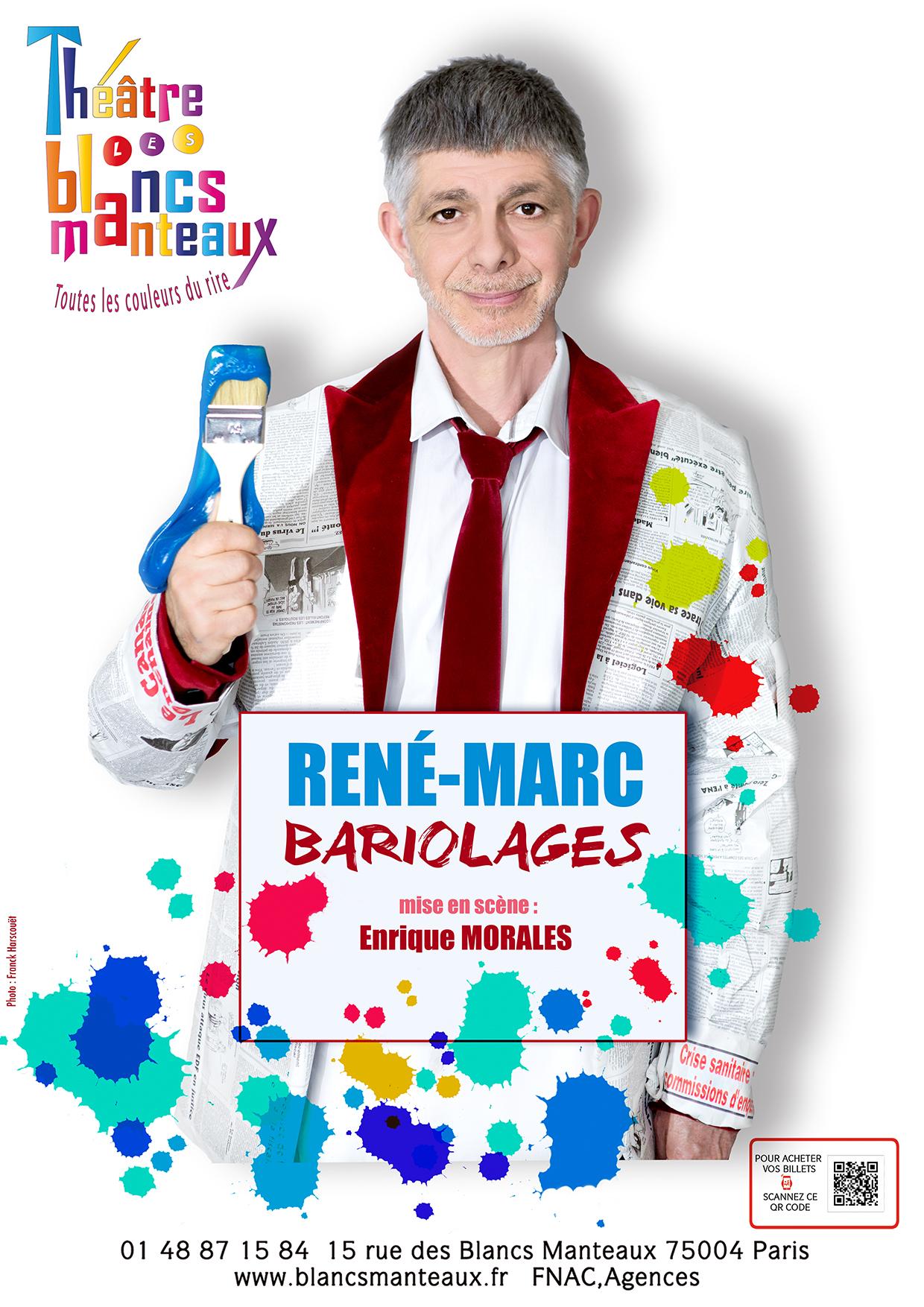 René-Marc GUEDJ, le 19 Juillet - Kibélé | Café-Théâtre