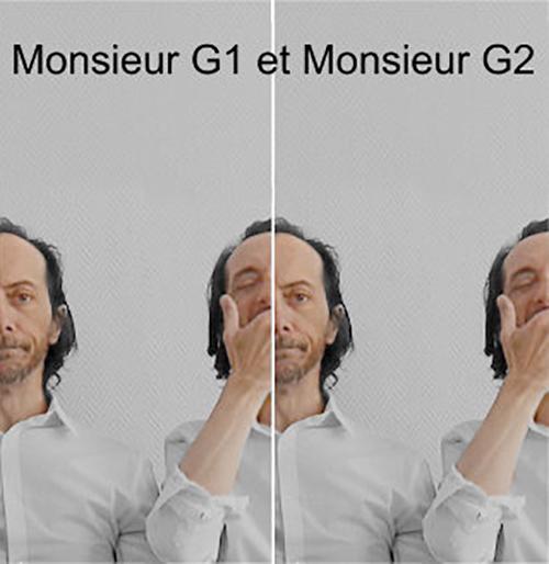 MONSIEUR G1 et MONSIEUR G2, le 19 Septembre - Petit Théâtre du Kibélé