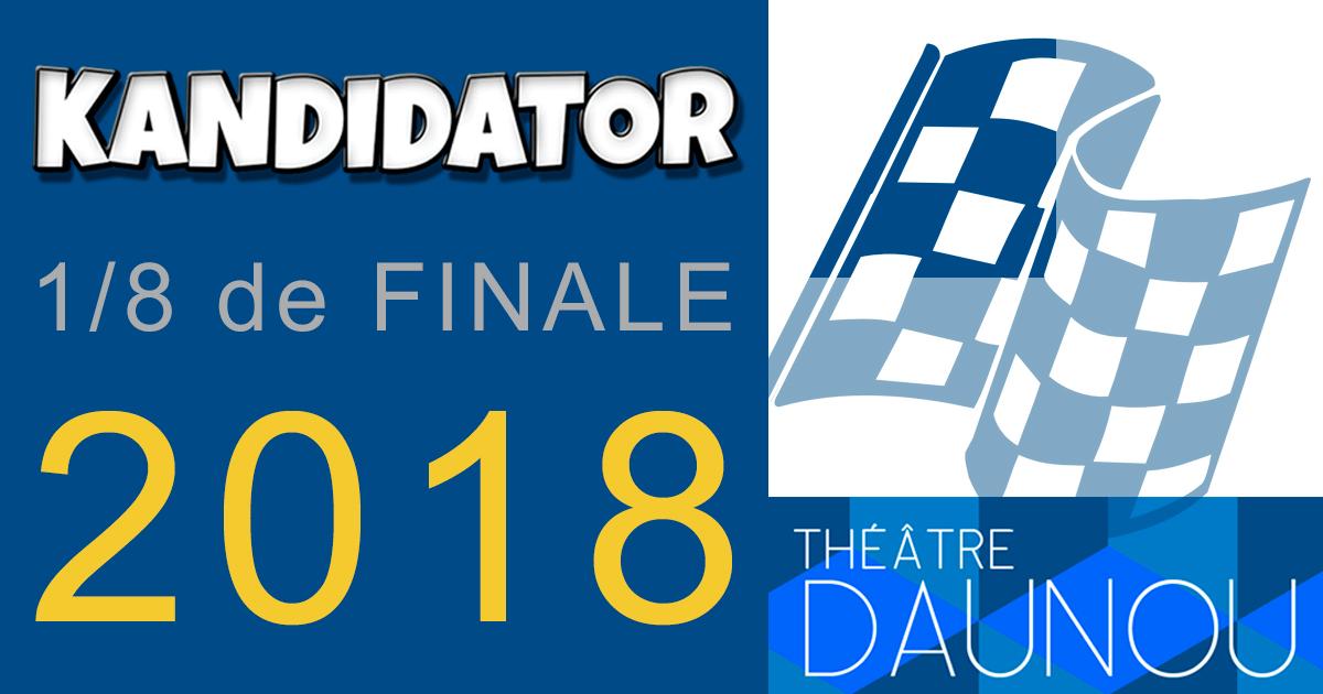 1/8ème de finale du Grand Concours National - Talents 2018 - Part (...), le 8 Octobre - Théâtre Daunou
