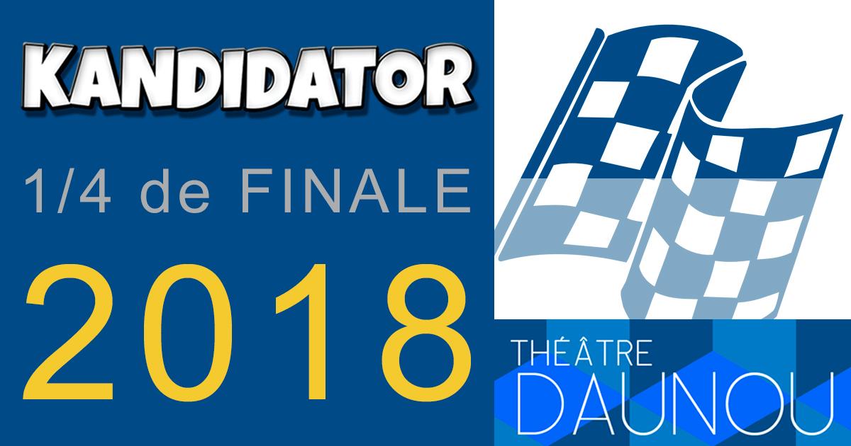 1/4 de finale du Grand Concours National - Talents 2018, le 22 Octobre - Théâtre Daunou