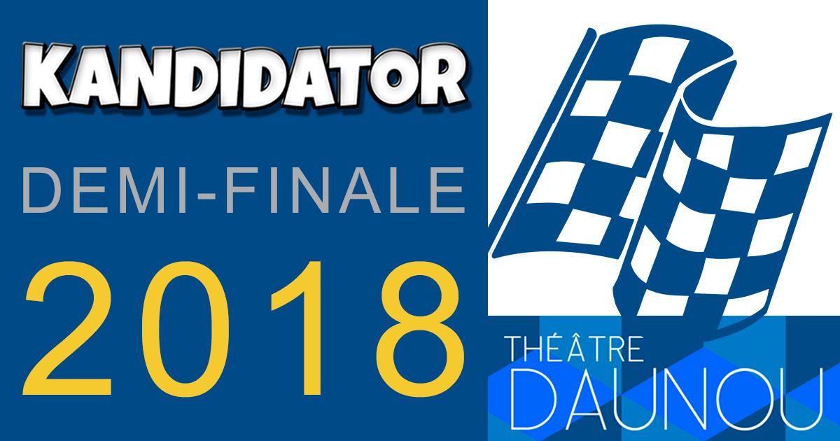 1/2 finale du Grand Concours National - Talents 2018, le 5 Novembre - Théâtre Daunou