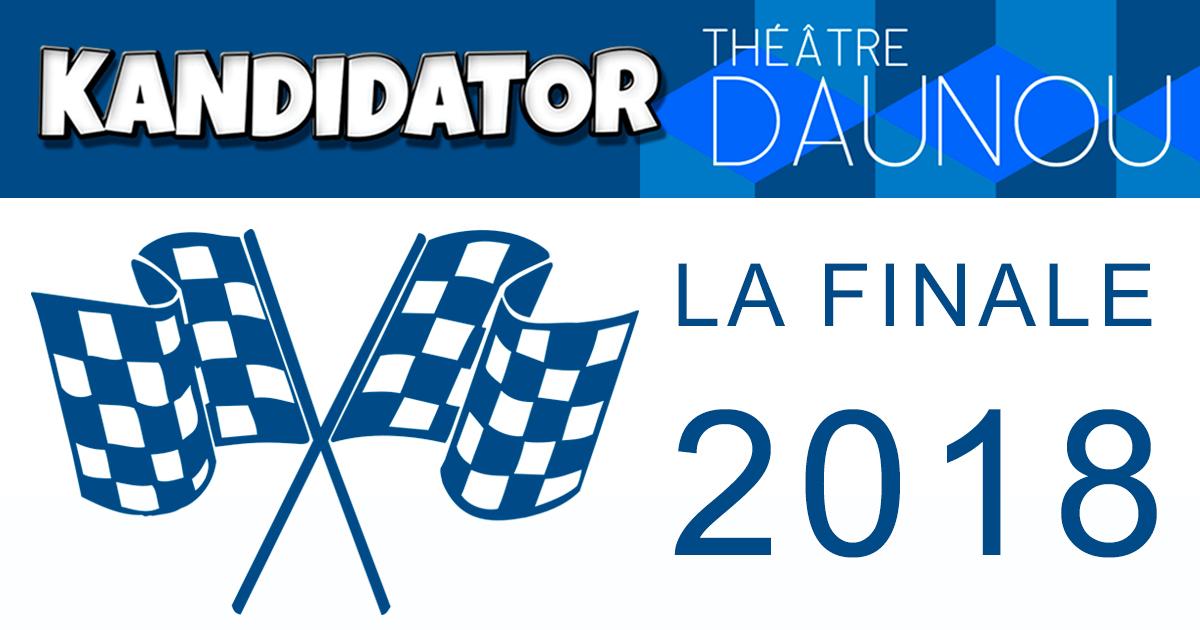 Finale du Grand Concours National - Talents 2018, le 12 Novembre - Théâtre Daunou