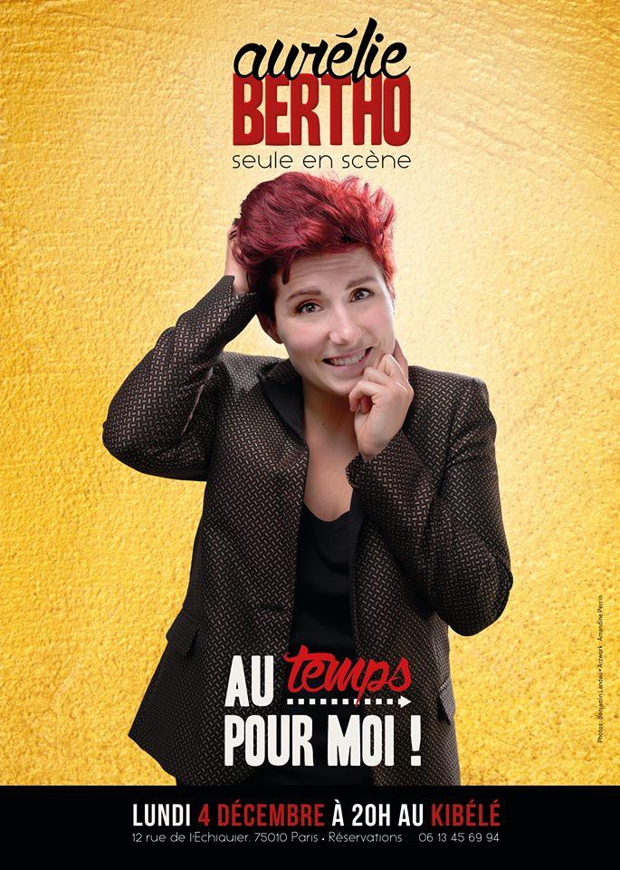 Aurélie BERTHO, le 4 Décembre - Petit Théâtre du Kibélé