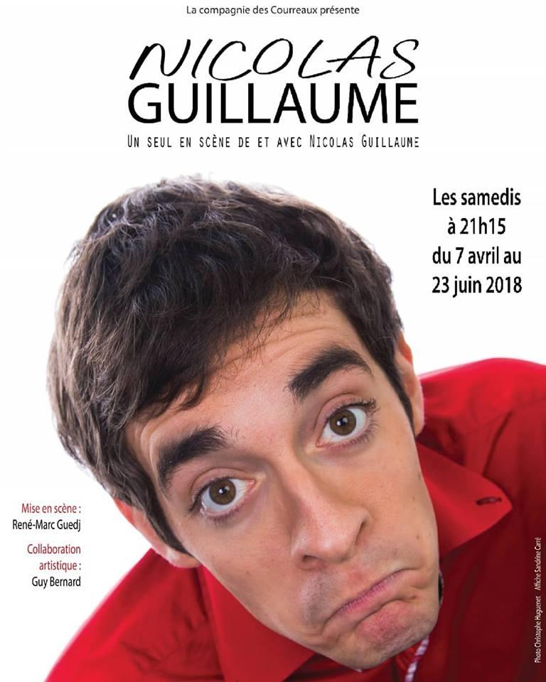 Nicolas Guillaume, le 19 Mai - Théâtre Darius Milhaud