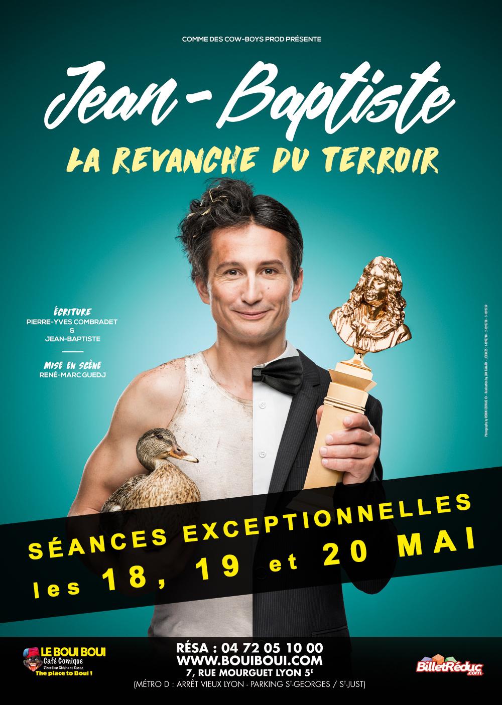 Jean-Baptiste, le 19 Mai - Boui Boui Café Comique