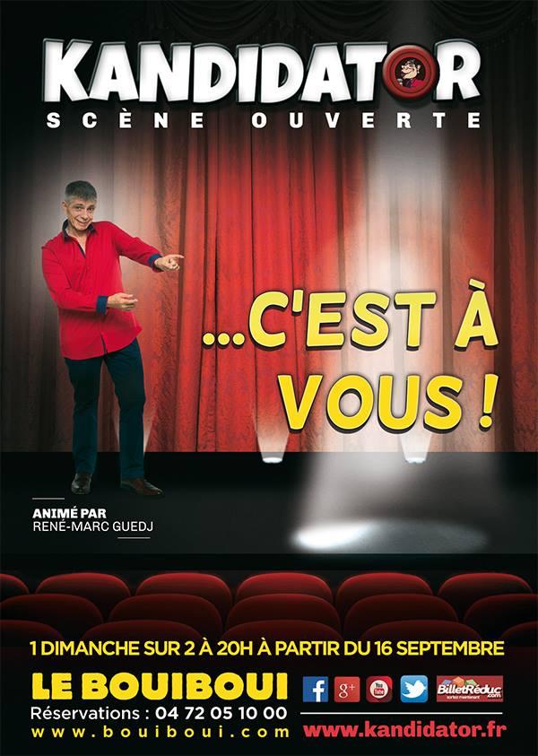 Sélections à Lyon, le 14 Octobre - Boui Boui Café Comique