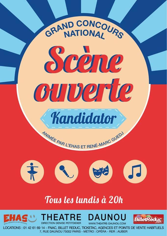 Sélections à Paris, le 18 Mars - Théâtre Daunou