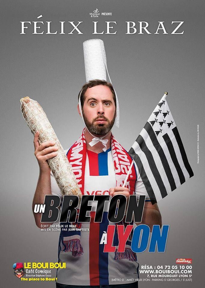 Félix le Braz, le 11 Octobre - Boui Boui Café Comique