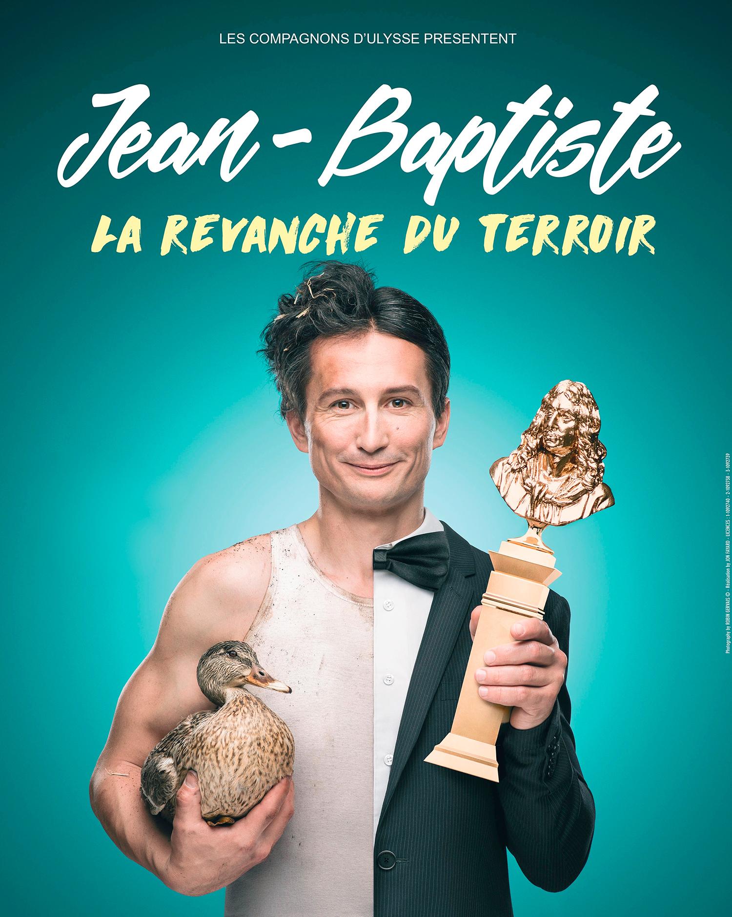 Jean-Baptiste, le 18 Janvier - Café-Théâtre le Lézard