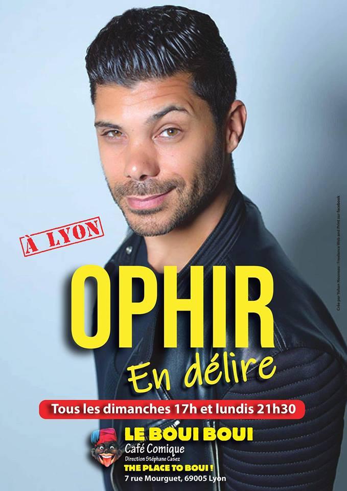 Ophir, le 21 Janvier - Boui Boui Café Comique