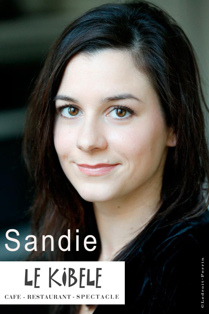 Sandie, le 9 Avril - Petit Théâtre du Kibélé
