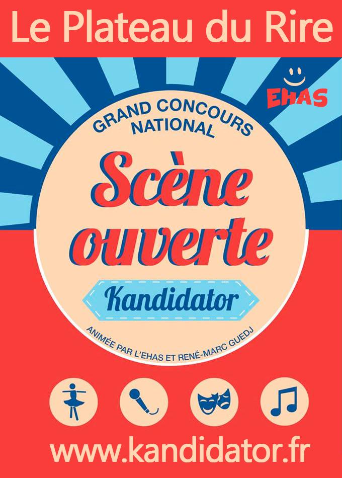 Le Plateau du Rire Kandidator, le 27 Février - Théâtre du Blanc-Mesnil