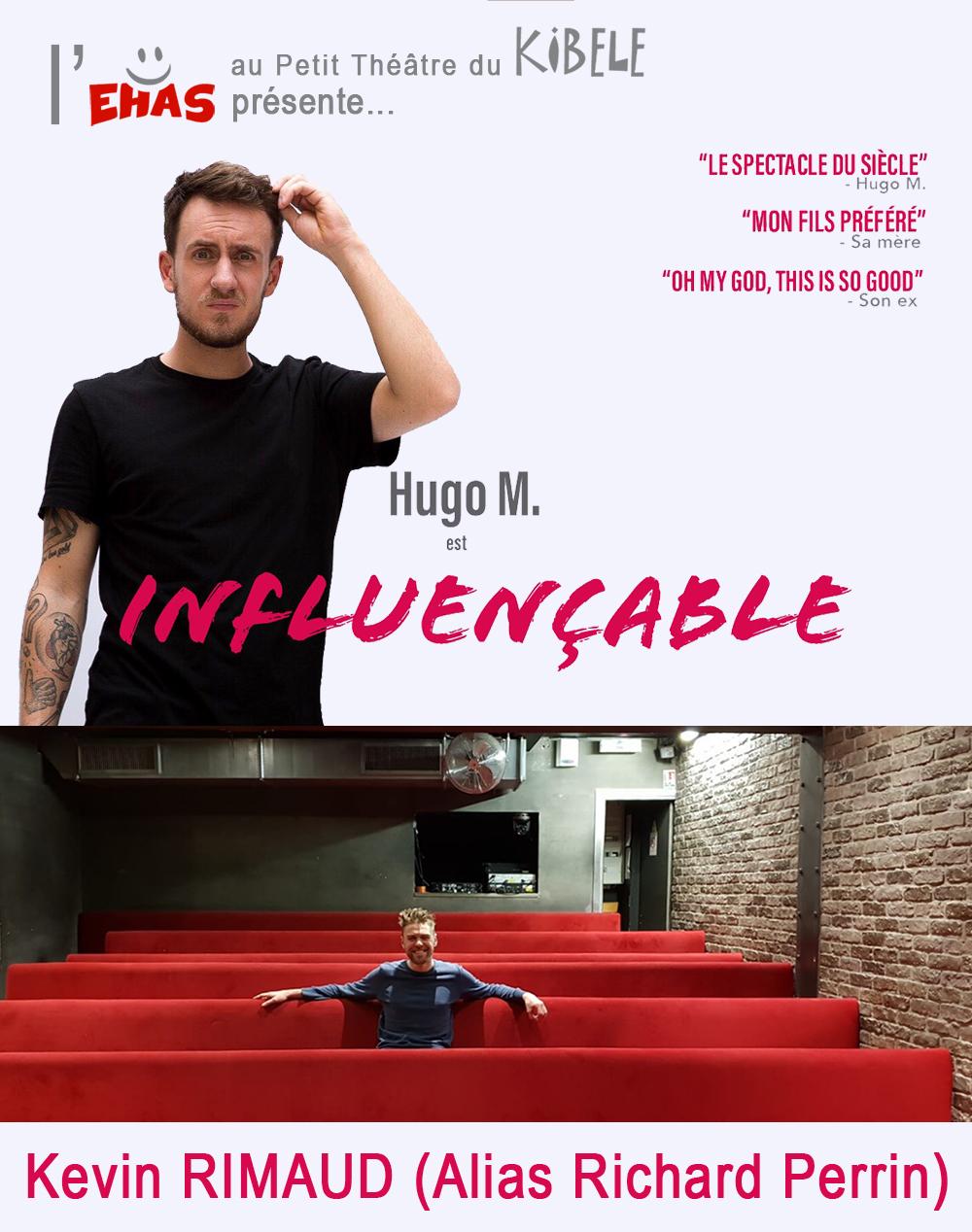 HUGO M. et Kevin RIMAUD, le 28 Mars - Petit Théâtre du Kibélé