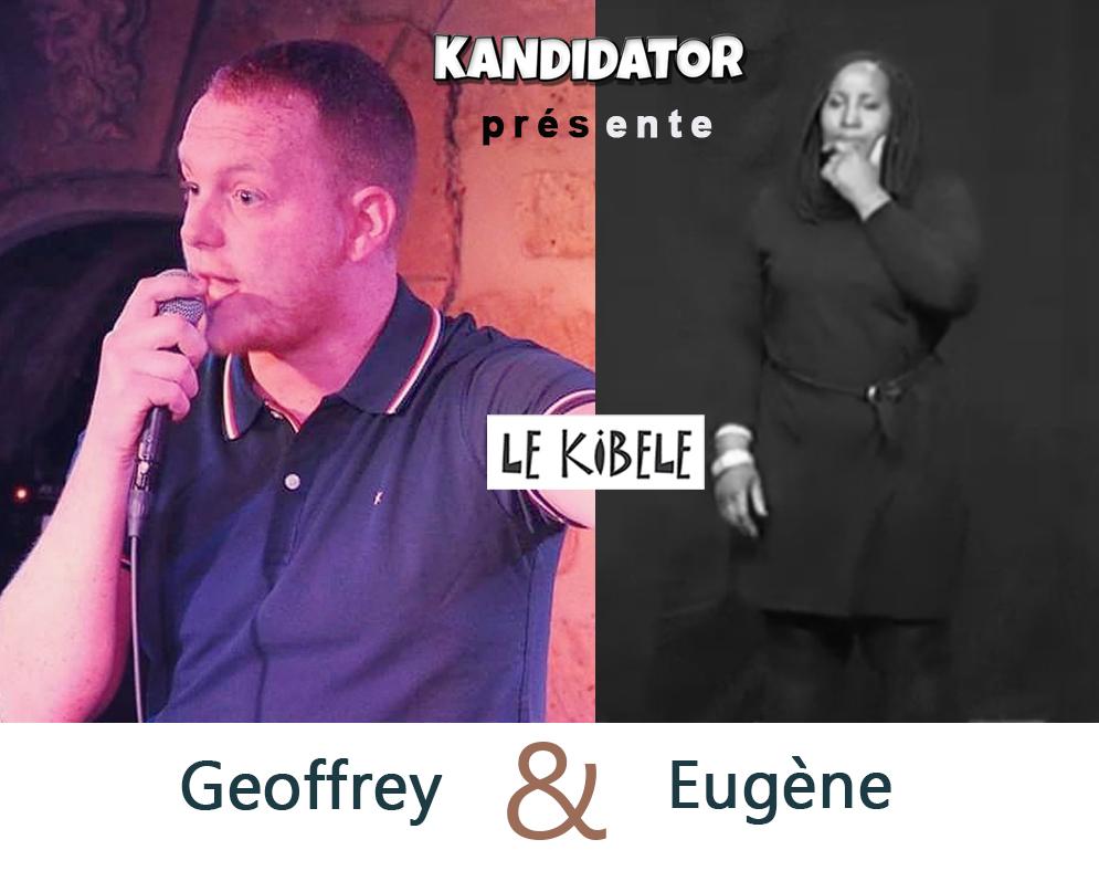 Geoffrey et Eugène, le 16 Avril - Petit Théâtre du Kibélé