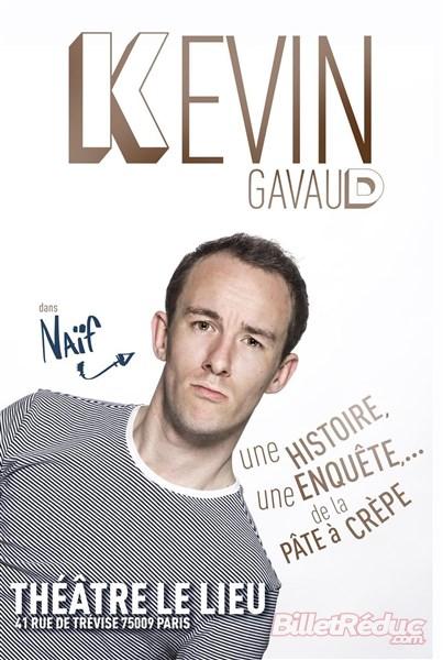 Kevin GAVAUD, le 24 Juillet - Petit Théâtre du Kibélé