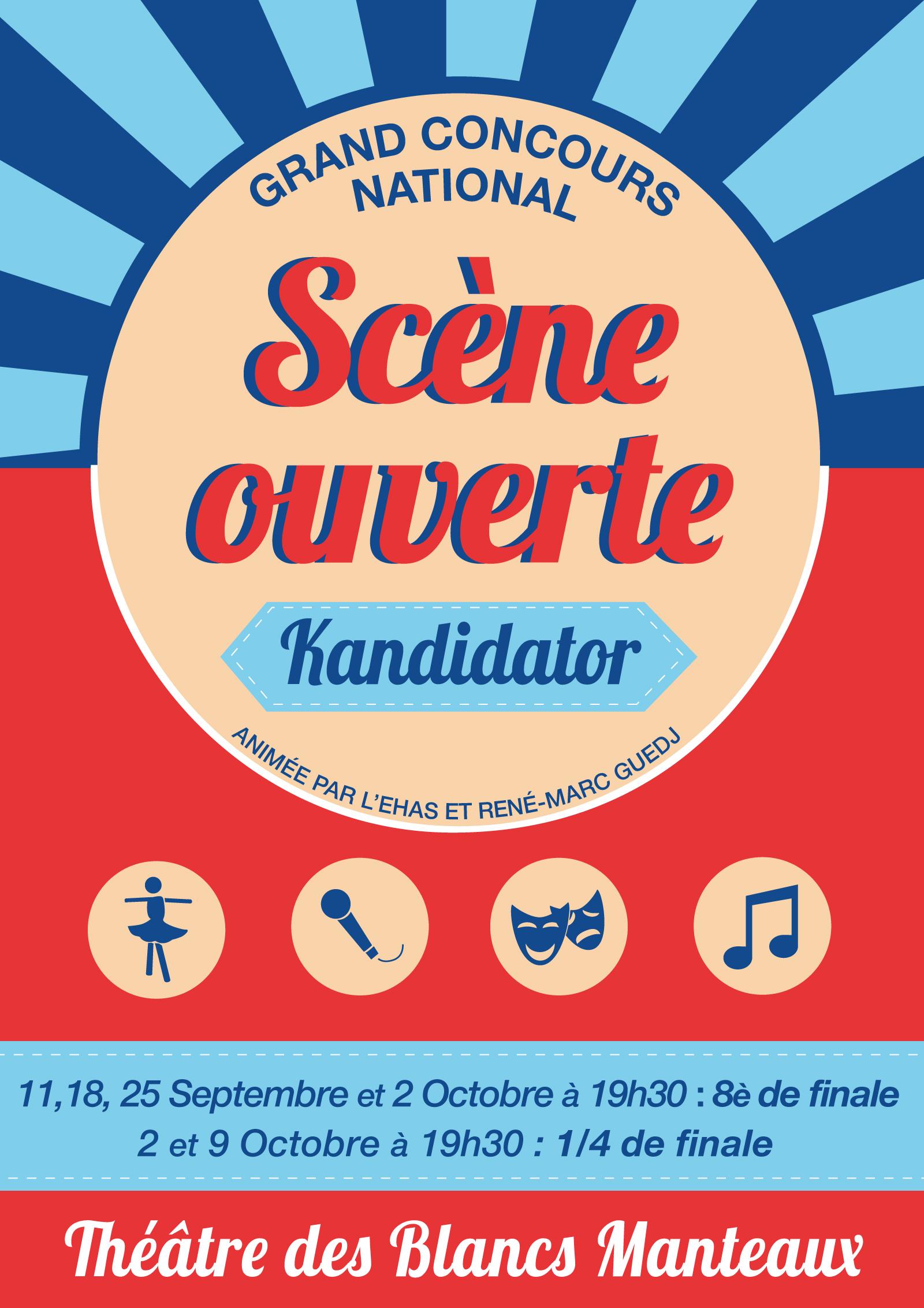 Huitième de Finale, le 2 Octobre - Théâtre des Blancs-Manteaux