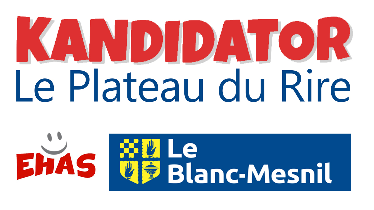 Le Plateau du Rire Kandidator, le 27 Novembre - Théâtre du Blanc-Mesnil