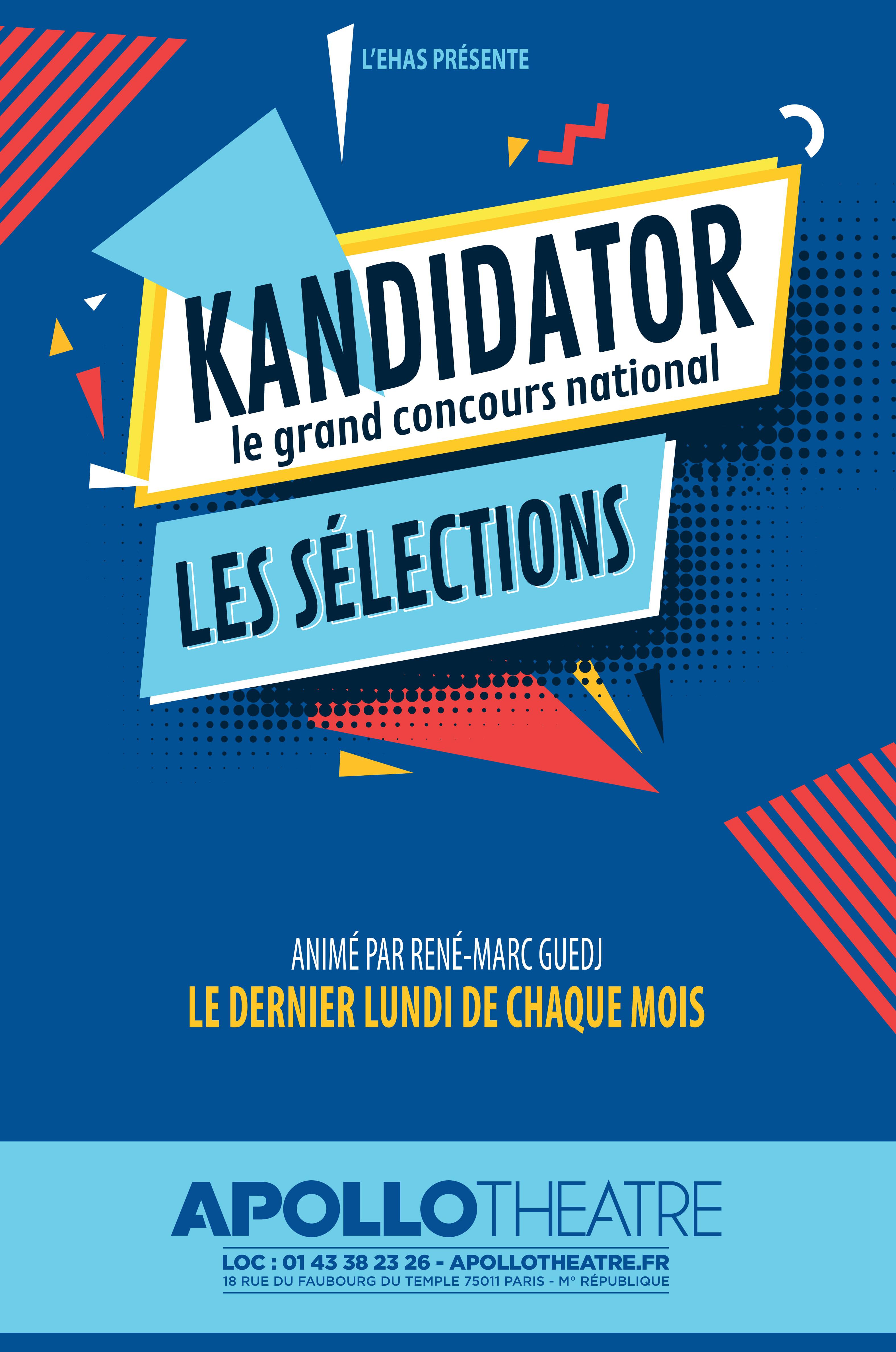 Grand Concours National - Talents 2020, le 27 Janvier - Apollo Théâtre