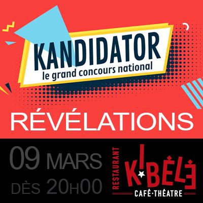 Rémy VEUX / Antoine TARTRAT, le 9 Mars - Kibélé   Café-Théâtre