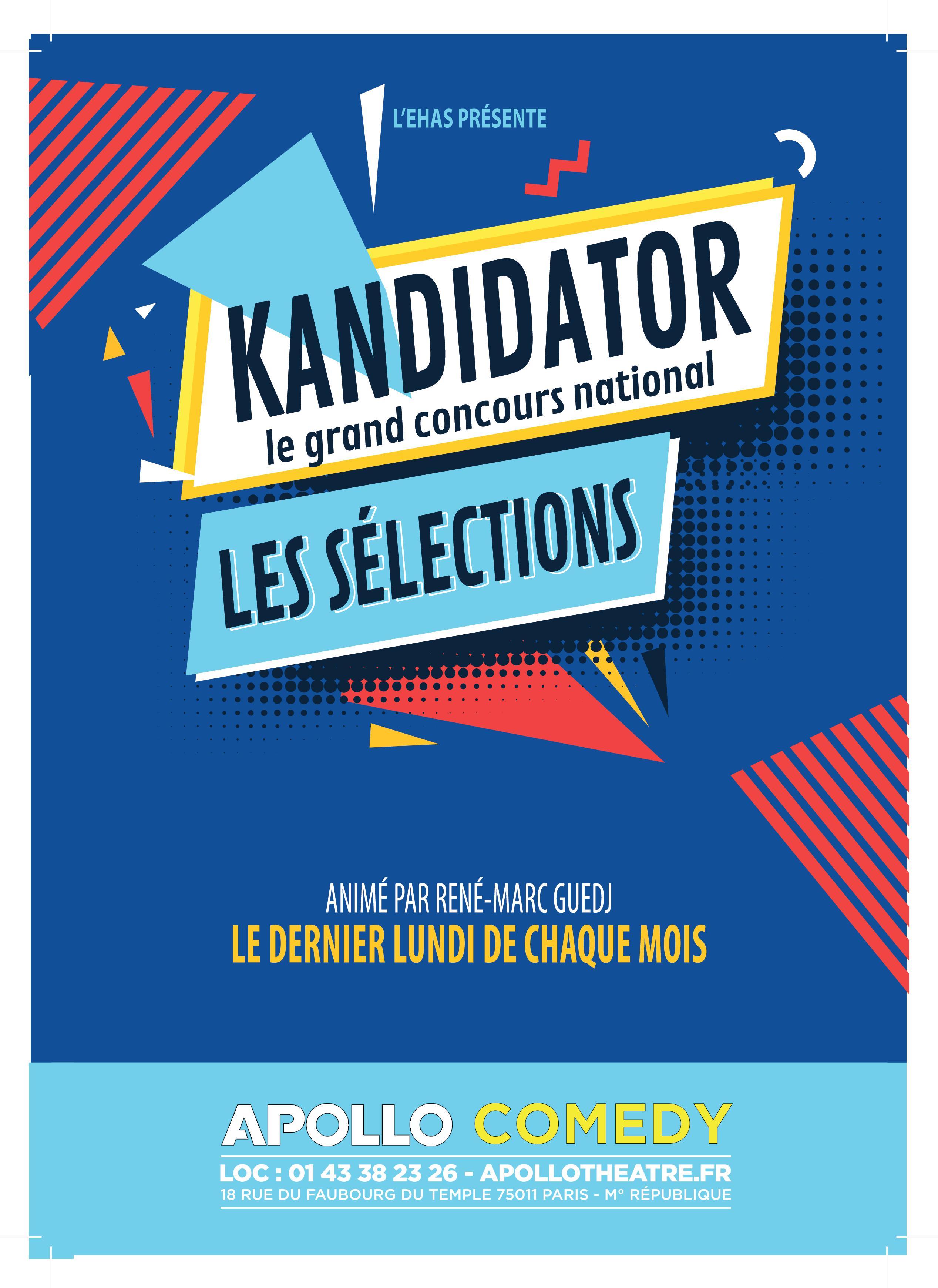 Grand Concours National - Talents 2021, le 19 Octobre - Apollo Théâtre