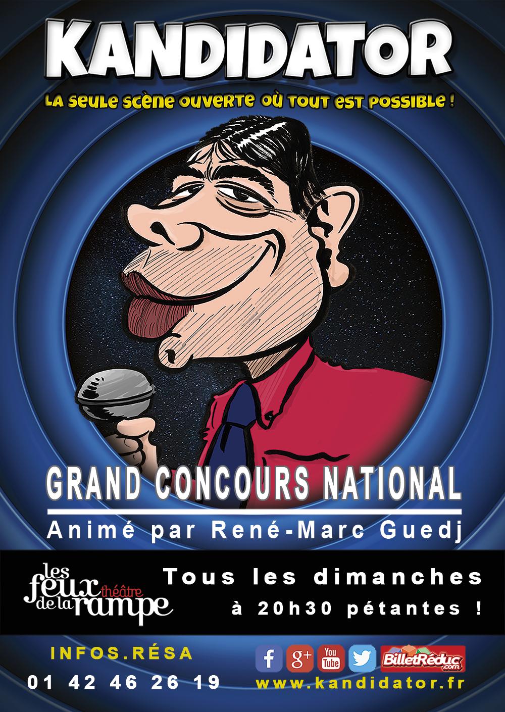 Sélections à Paris, le 29 Janvier - Théâtre des Feux de la Rampe