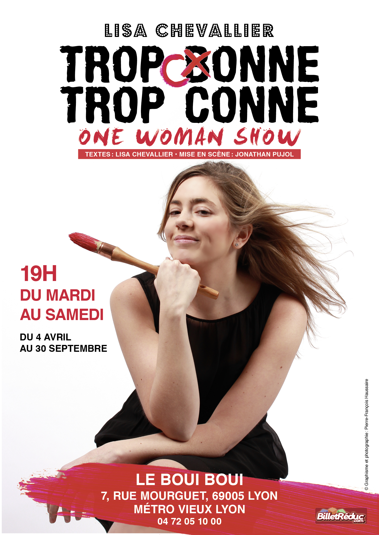 Lisa CHEVALLIER, le 12 Septembre - Boui Boui Café Comique