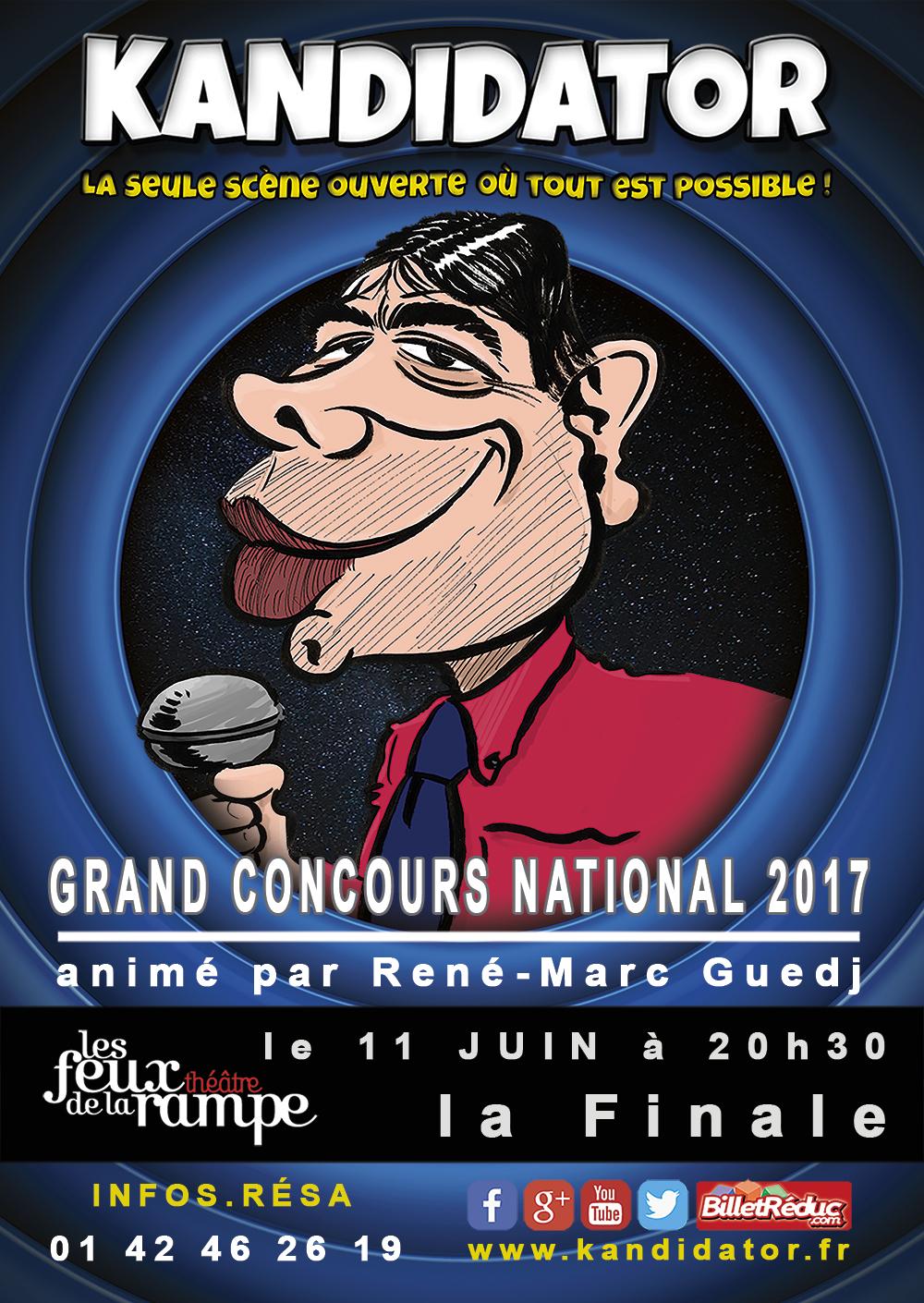 Finale 2017, le 11 Juin - Théâtre des Feux de la Rampe