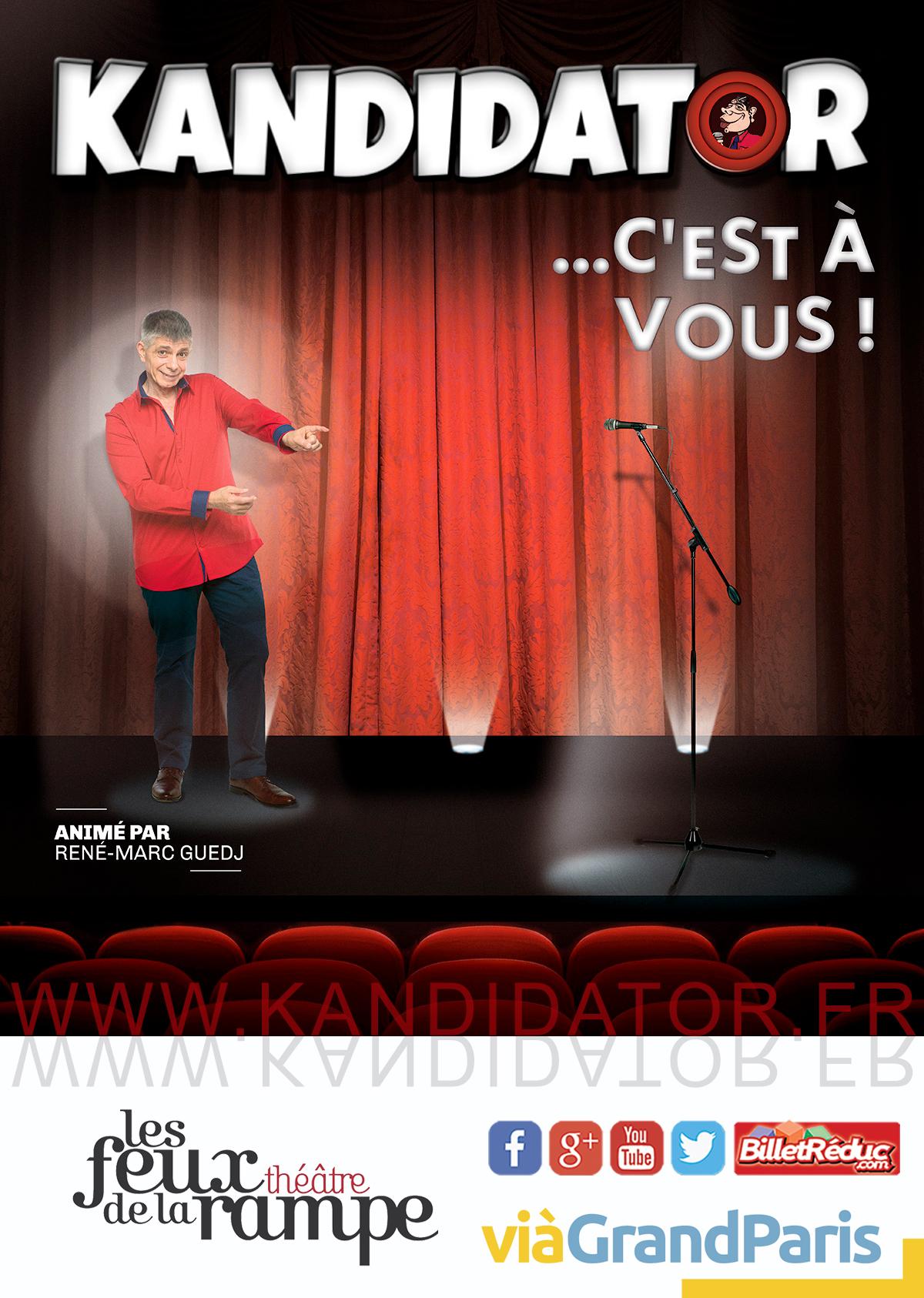 KANDIDATOR TV N°0, le 17 Septembre - Théâtre des Feux de la Rampe